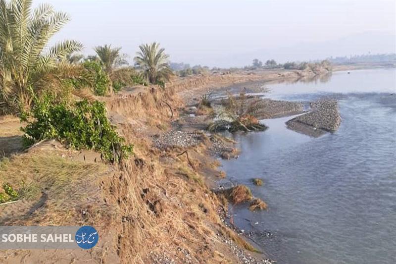 خسارتهای سیل در رودان