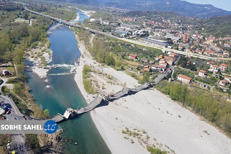ریزش پل در ایتالیا