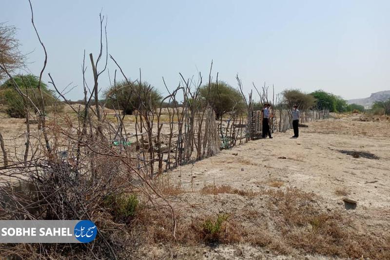 رفع تصرف ۱۰ هزار متر مربع  اراضی ملی در ۳ روستای قشم