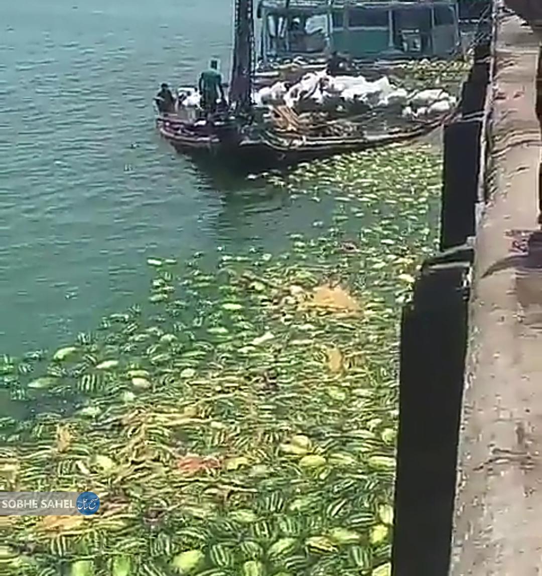 غرق شدن لنج