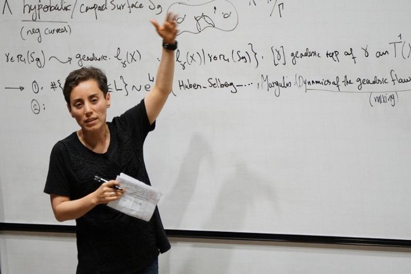 مریم میرزاخانی یکی از هفت زن دانشمند تاثیرگذار در تاریخ