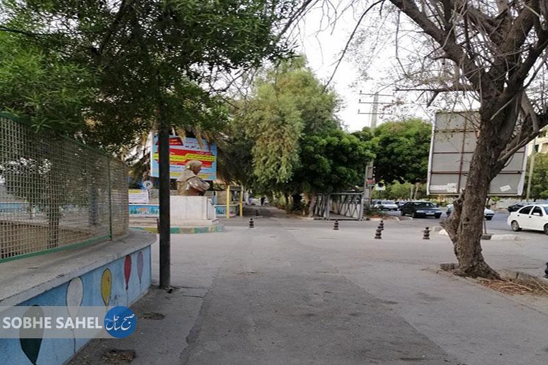گلایه شهروندان از بلاتکلیفی پل هوایی کنار بیمارستان کودکان بندرعباس