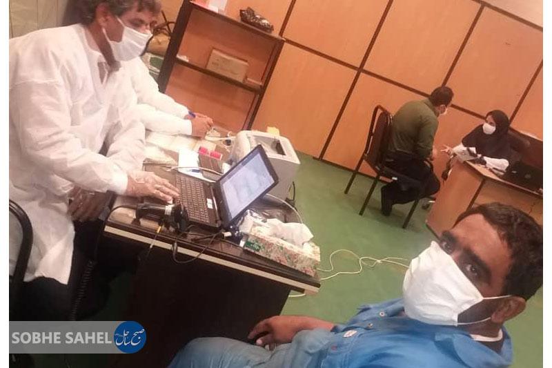 اهدای خون کارکنان شرکت ملی نفت به مناسبت روز ملی اهدای خون