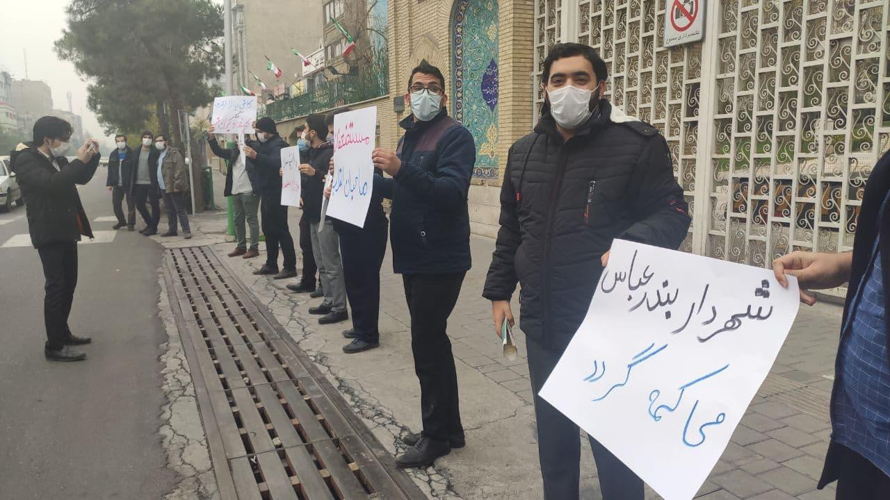 تجمع دانشجویان تهران برای عزل شهردار بندرعباس؛ هزینه بازسازی خانه زن بندرعباسی را شهردار بپردازد