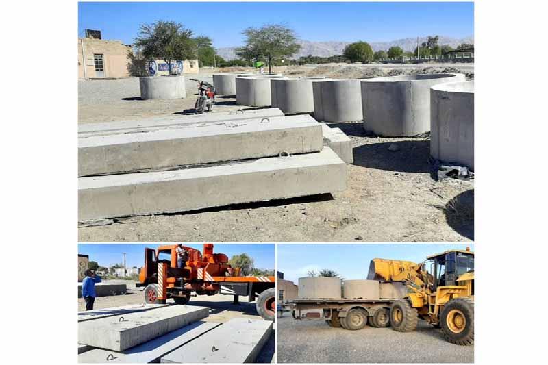 عملیات تعمیر پل روستای چراغ آباد آغاز شد