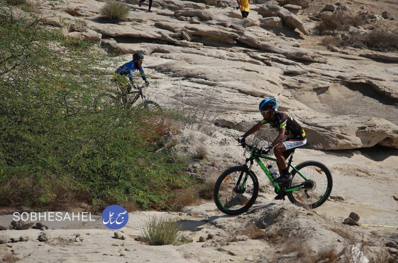 مسابقات دوچرخه سواری در کوهستان پارک پنجه علی