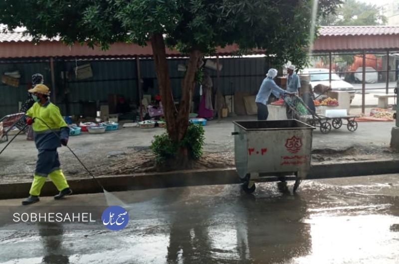 اقدامات مثبت شهرداری بندرعباس در جهت پاکسازی معابر شهر