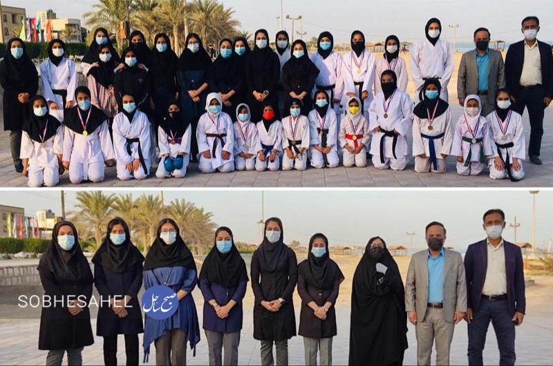 هیات کاراته شهرستان بندرلنگه در سایه ویروس کووید_ ۱۹