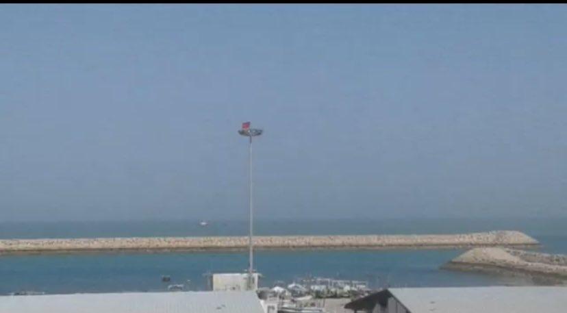 پرچم چین در جزیره قشم تکذیب شد