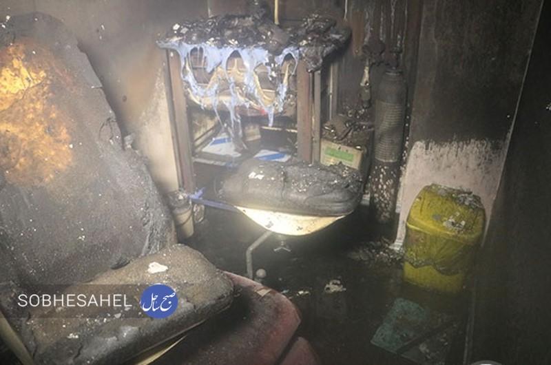 آتشسوزی آزمایشگاه ژنتیک در بندرعباس