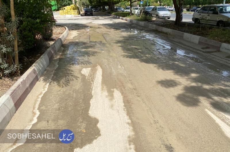 حفاری و رها سازی غیر اصولی آب در بندرعباس؛  مردم: سازمان ها پیگیری جدی نمی کنند