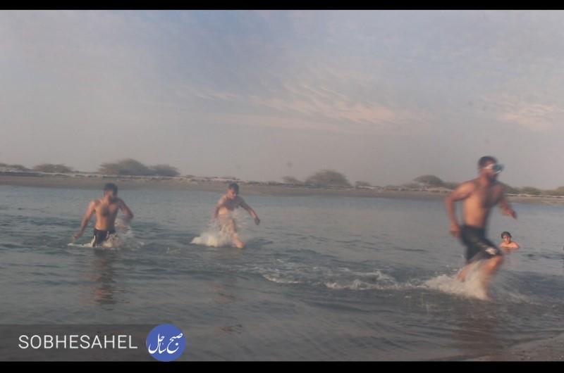 مسابقات دوگانه شنا و دو در جاسک