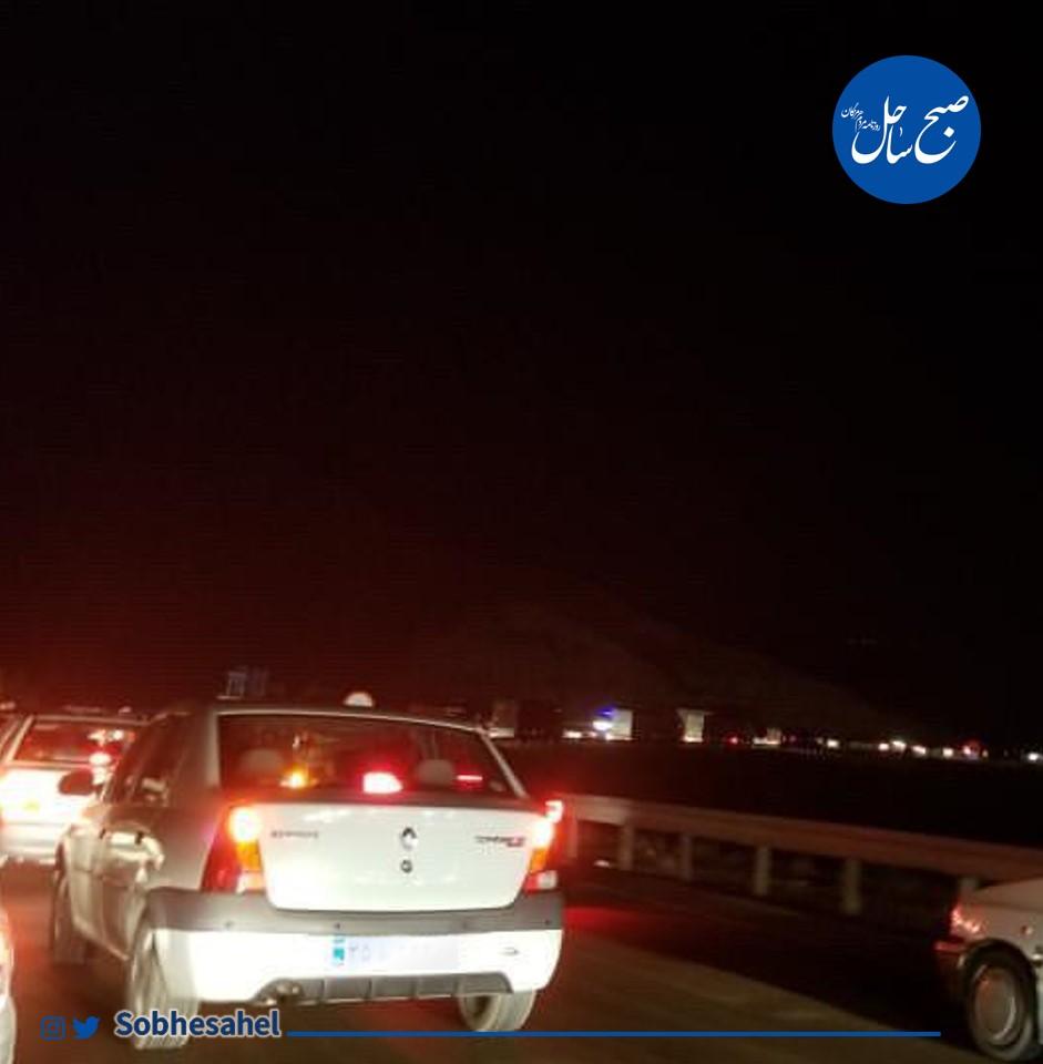 ترافیک سنگین در شب 16مهرماه در ورودی بندرعباس